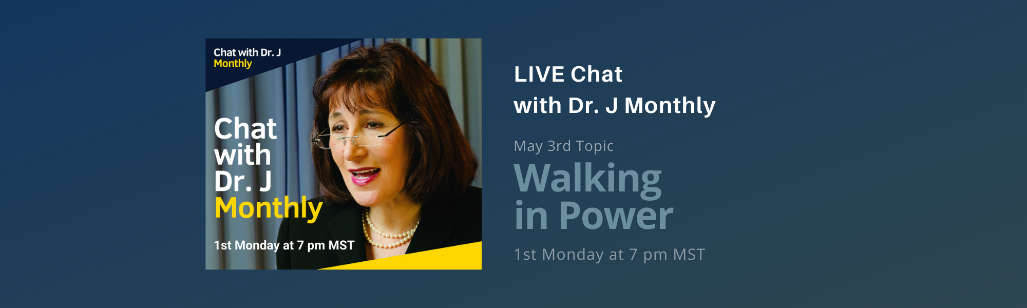 May Chat with Dr J